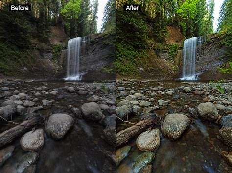 Download Free Photoshop Actions for Waterfalls and Landscapes