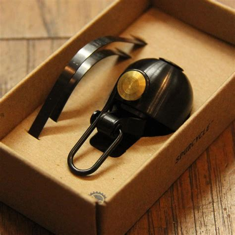 Spurcycle Bell(BLACK) – BICYCLE STUDIO MOVEMENT