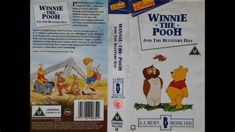 Winnie the Pooh and the Blustery Day (1995, UK VHS) - YouTube