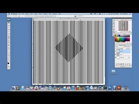 Tutorial on an Optical Illusion With Photoshop : Using
